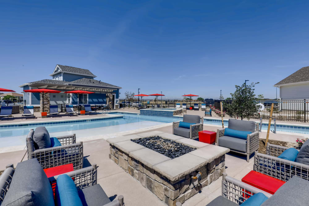 Swimming pool at Avilla Buffalo Run in Commerce City, Colorado
