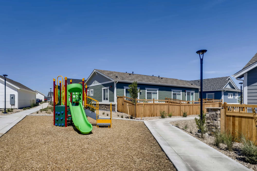 Exterior of the Avilla Buffalo Run community in Commerce City, Colorado