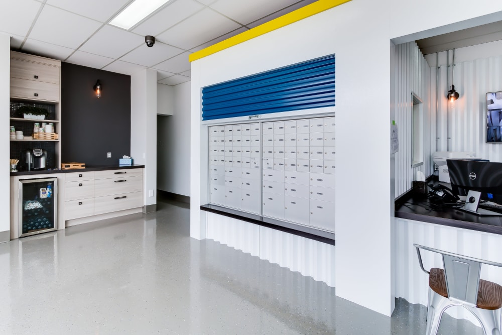 Leasing office at CityBox Storage in Calgary, Alberta