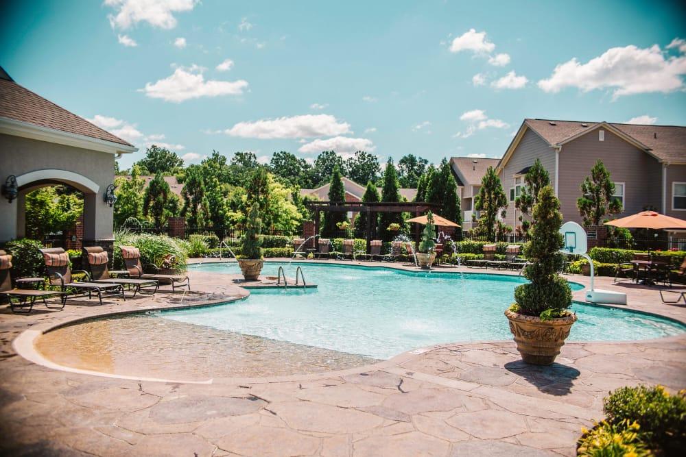 beautiful pool at Villas at Houston Levee East