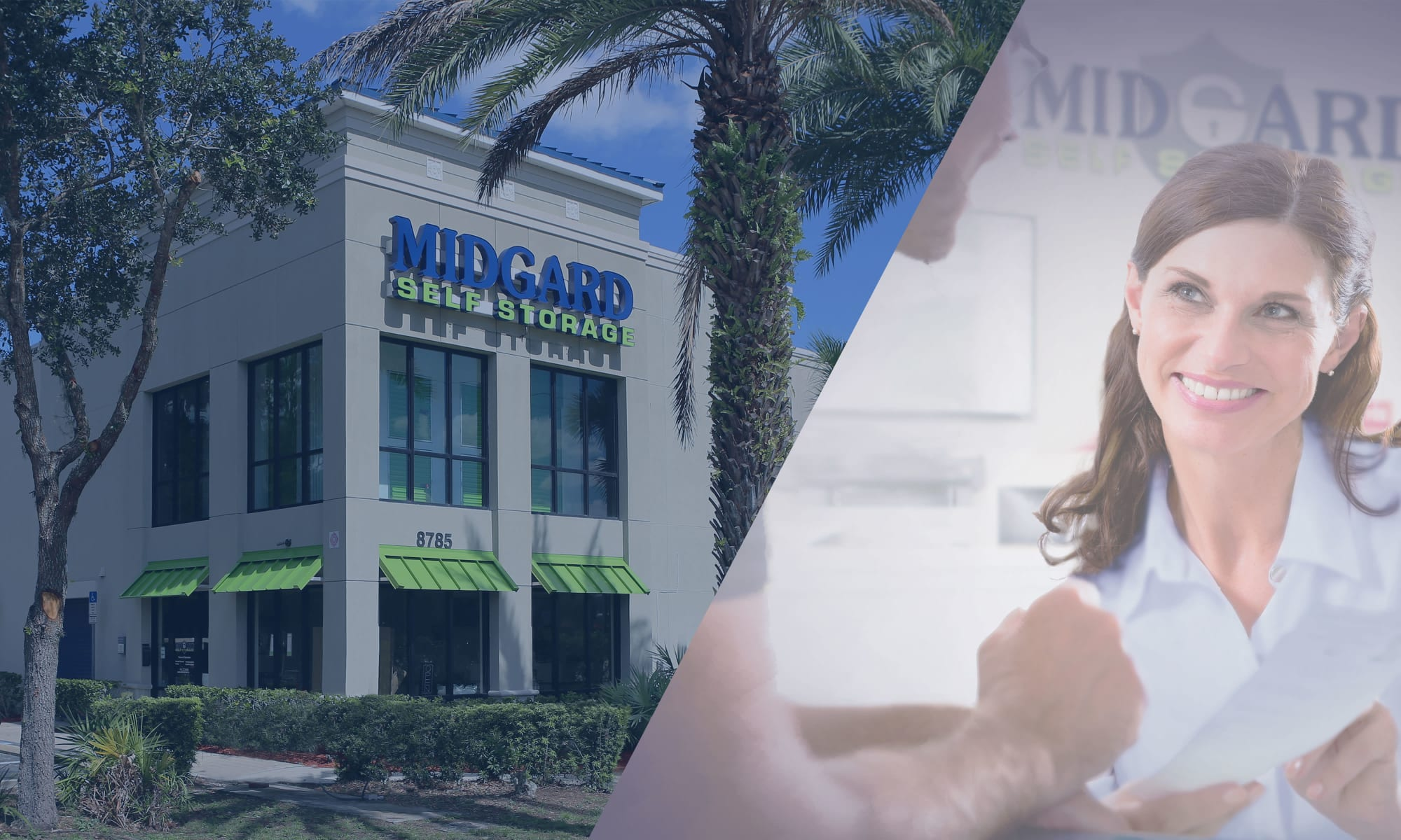 Self storage at Midgard Self Storage in Bradenton, Florida