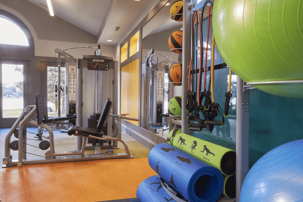Lakeside Terraces fitness center in Sterling Heights, Michigan