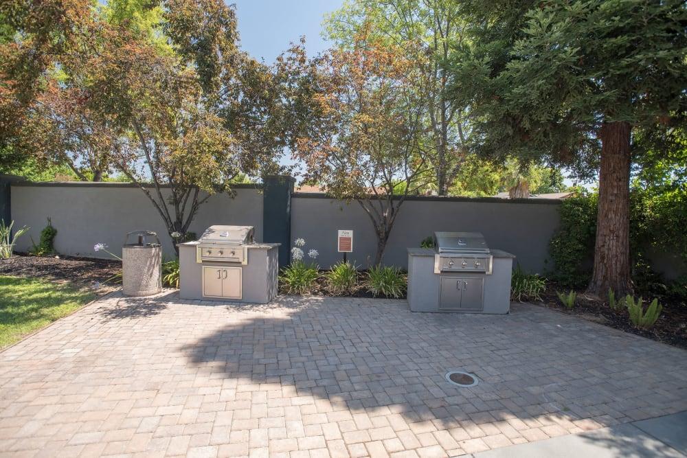 Outdoor grills at Avion Apartments in Rancho Cordova, California