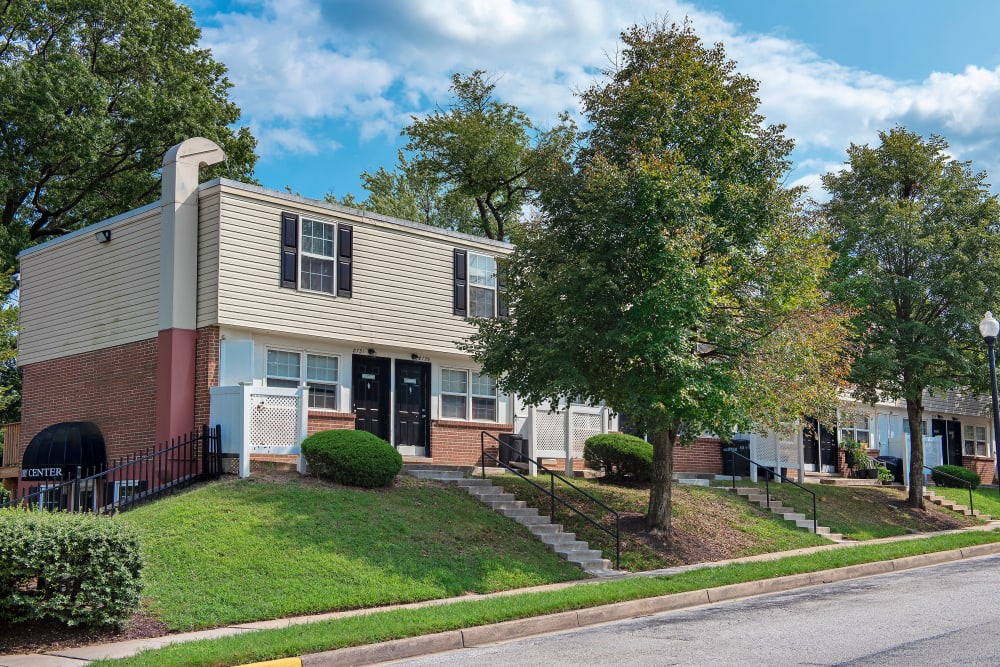 Apartment entryways in Rosedale, Maryland