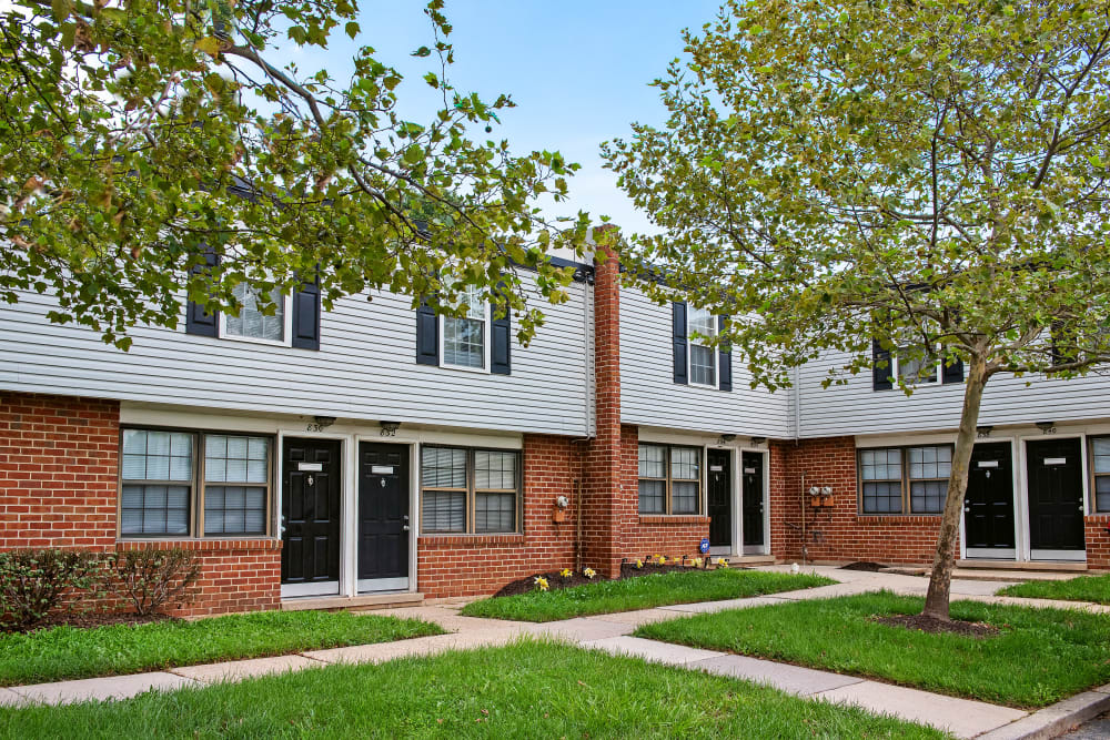 Modern apartments at Riverview Townhomes in Halethorpe, Maryland