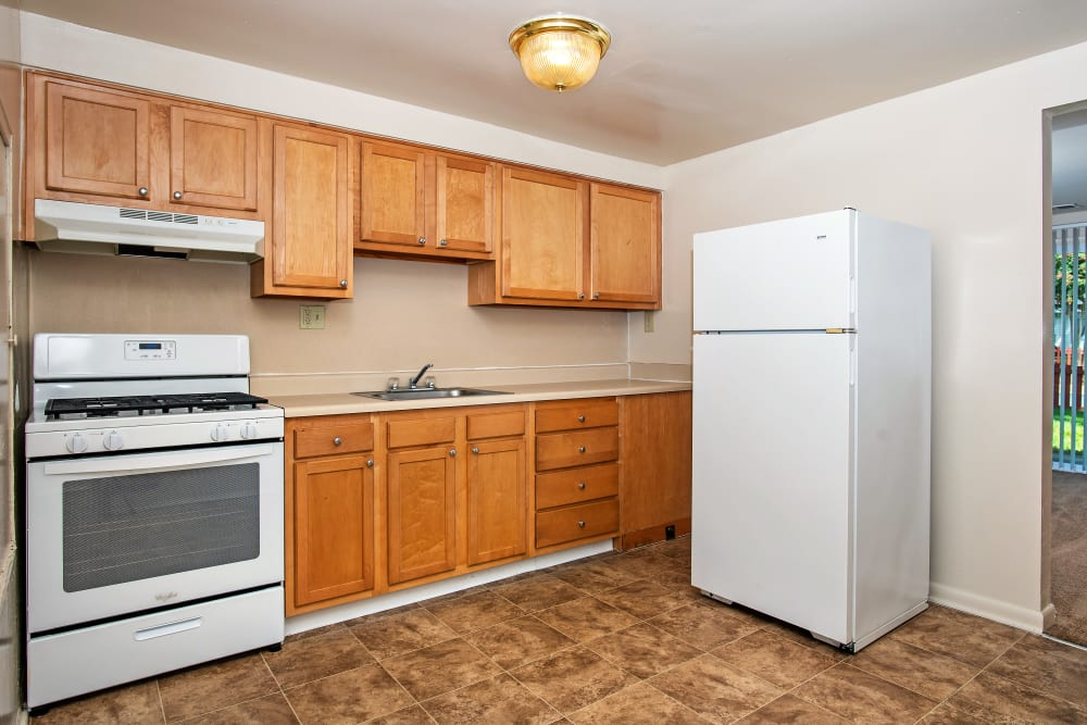 Enjoy our spacious apartments kitchen at Whispering Woods