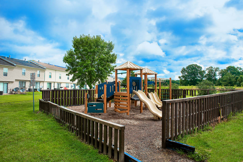 Great for entertaining playground at Whispering Woods in Middle River, Maryland