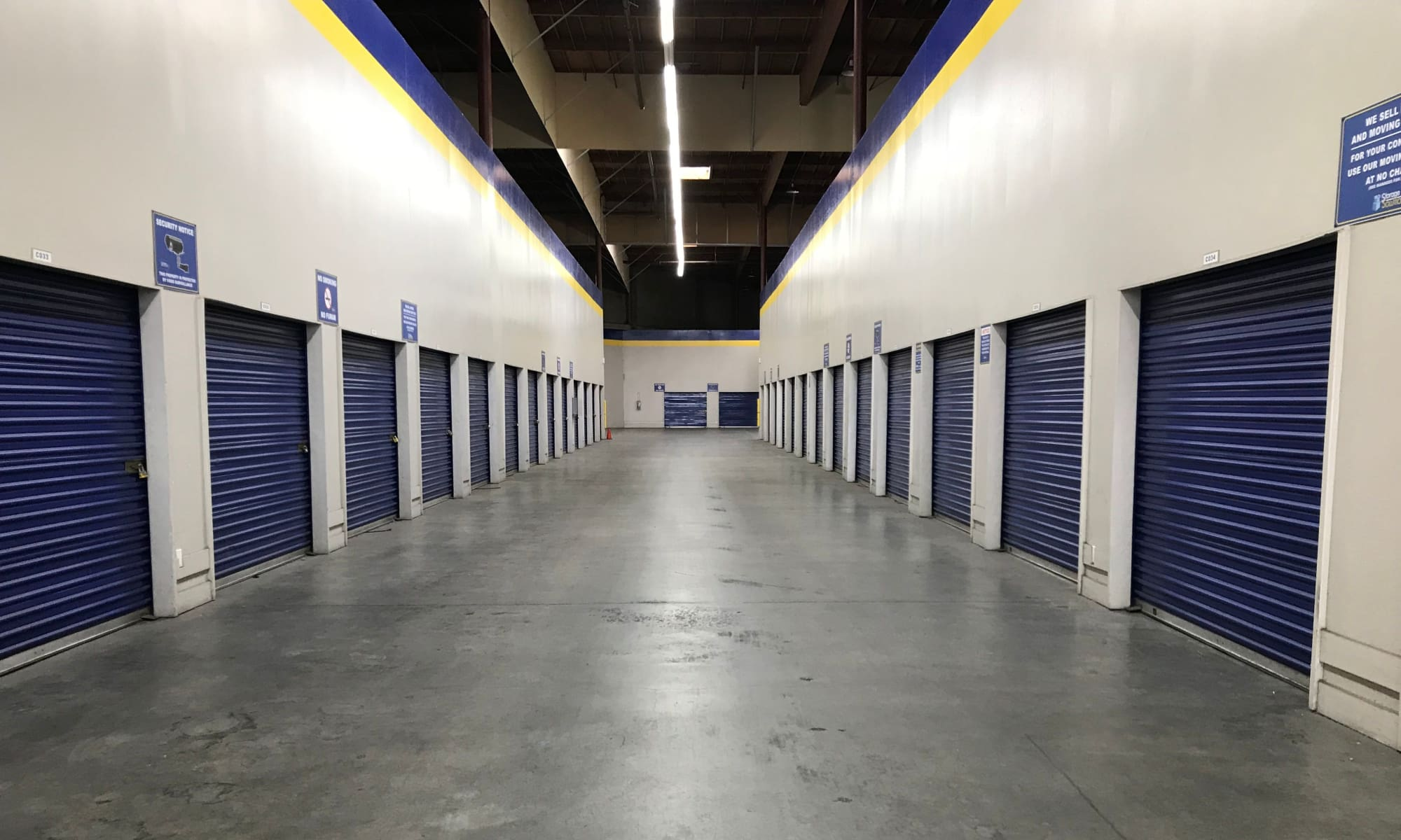 Self storage in San Jose California