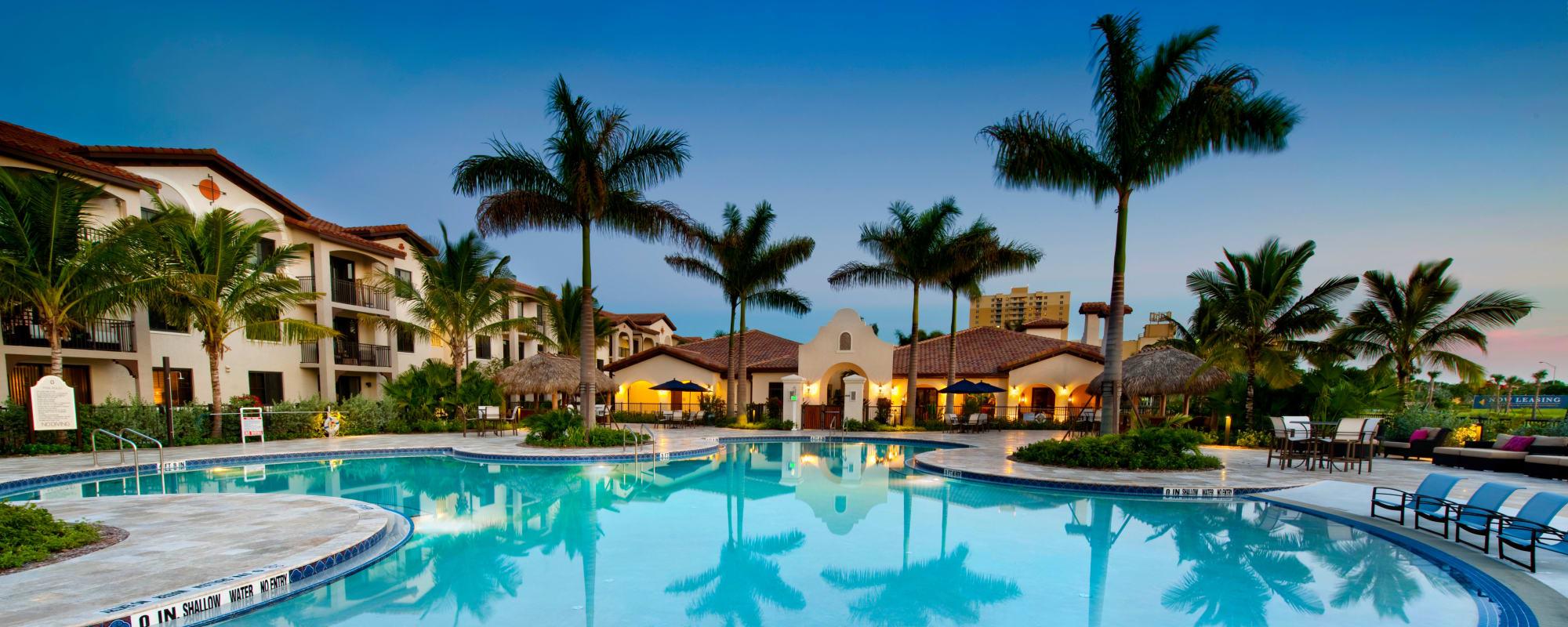Miami, Florida, apartments at Doral View Apartments