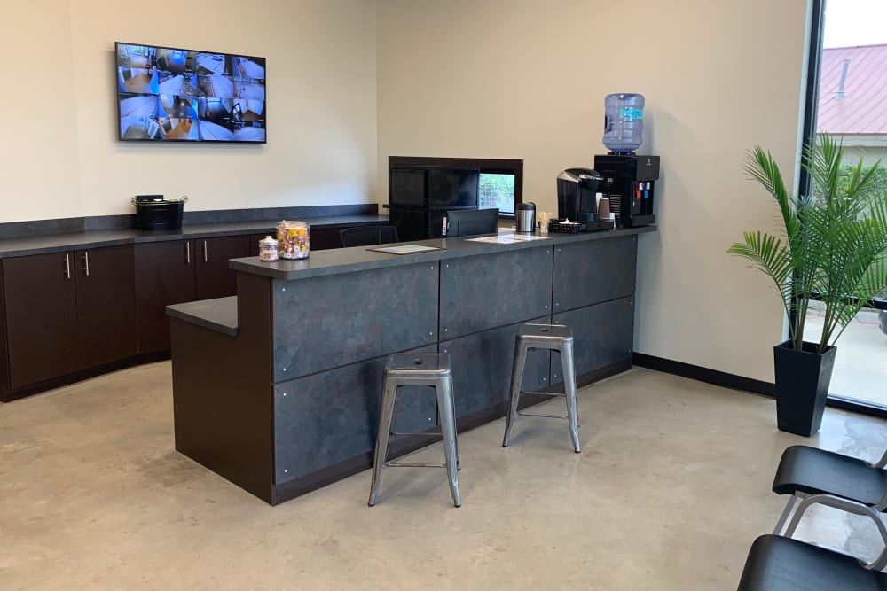 Front Desk at A3 Urban Storage in Dallas, Texas
