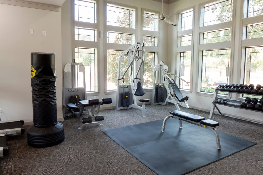 Our apartments in Humble, Texas have a state-of-the-art fitness center