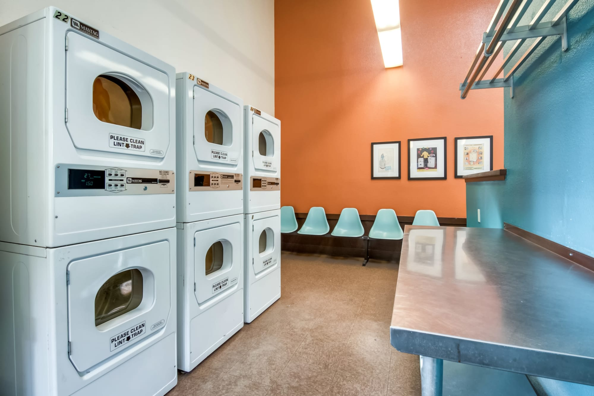 On-site laundry facility Terra Nova Villas  in Chula Vista, California