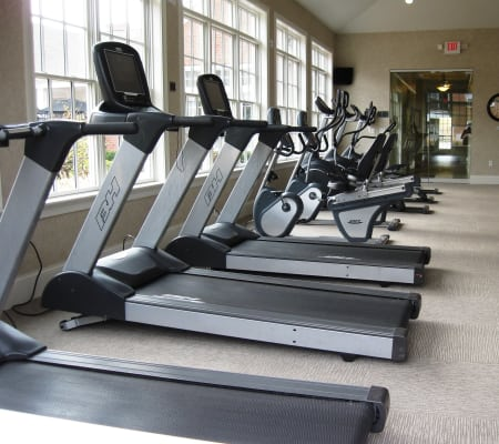 Treadmills at The Elms of Bloomfield in Bloomfield, NY