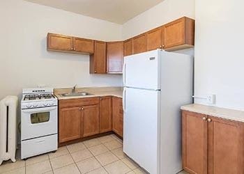 Kitchen at Mayflower Apartments