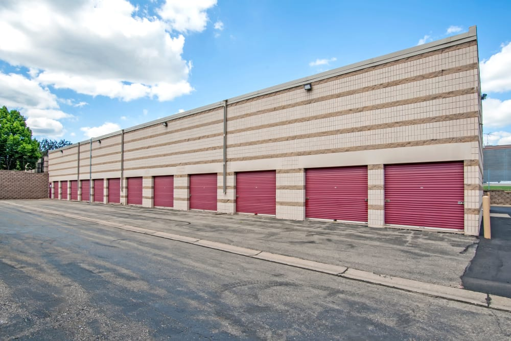 Metro Self Storage offers outdoor units in Eden Prairie, Minnesota