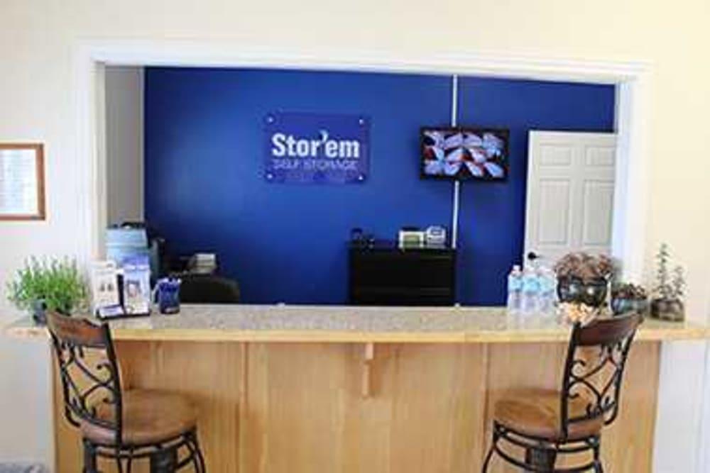 Office at Stor'em Self Storage in Payson, Utah