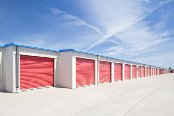 Ground-level storage Trojan Storage in Elk Grove, California
