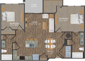 Greene I floor plan