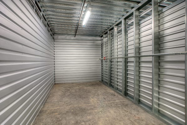 Indoor units at StorQuest Self Storage in Clearwater, Florida