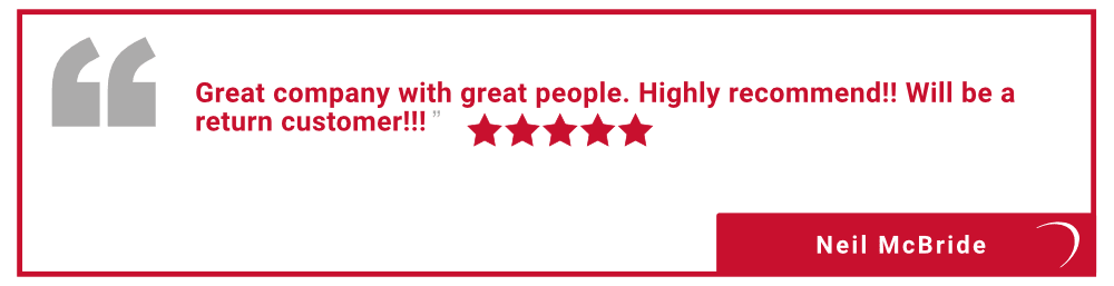 Five star review of Vault Self Storage in Holland Landing, Ontario, from George