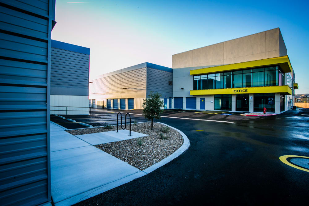 Parking lot of Golden State Storage - Blue Diamond in Las Vegas, NV