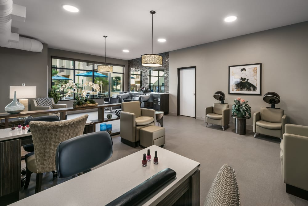Salon at Carnegie Heights at Henderson in Henderson, Nevada