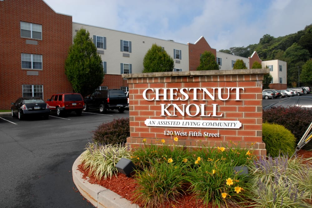 Chestnut Knoll in Boyertown, a community of Heritage Senior Living in Blue Bell, Pennsylvania