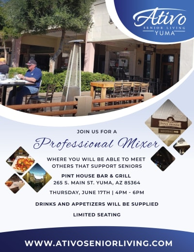 Mix and Mingle Event Flyer