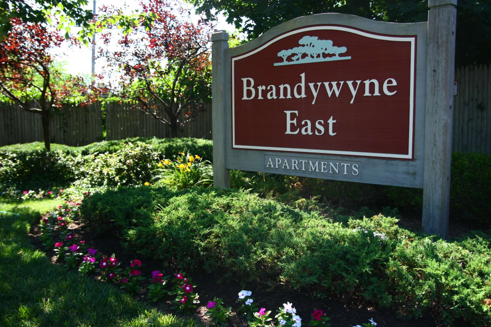 Signage at Brandywyne East II in Brielle, New Jersey