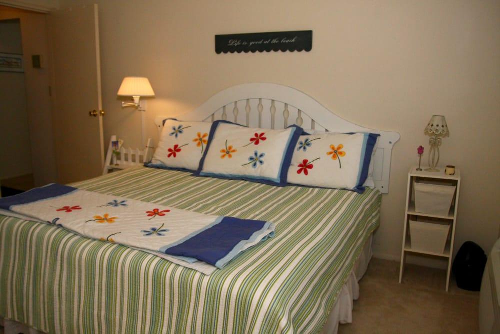 Bedroom at Brinley Manor in Bradley Beach, New Jersey