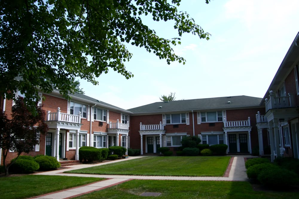 Exterior view of resident building at Cedar Village