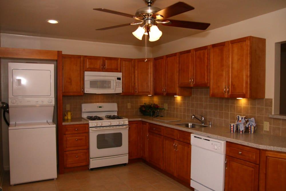 Beautiful kitchen at Cedar Village