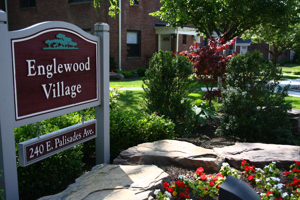 Sign at Englewood Village