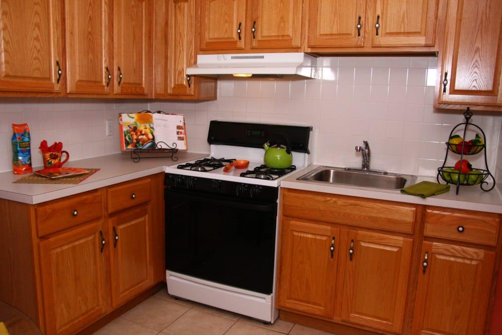 Beautiful kitchen at Lalor Gardens