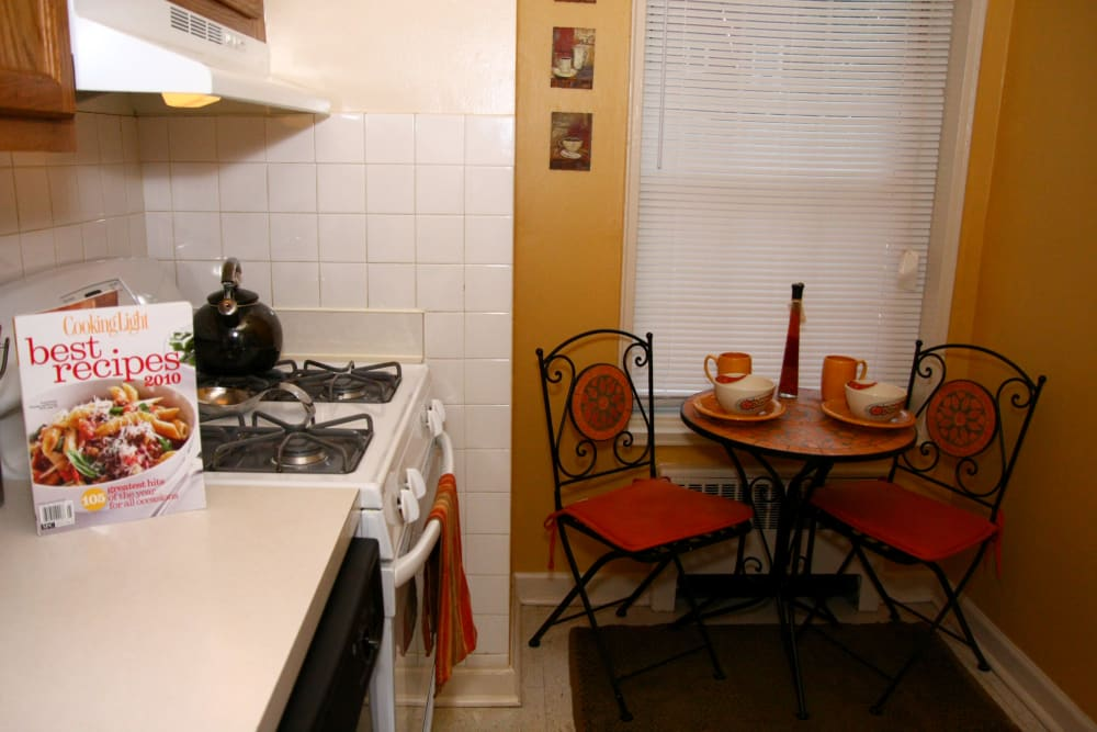 Alternative kitchen model at Linden Arms