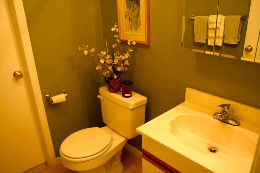 Beautiful bathroom at Timber Ridge