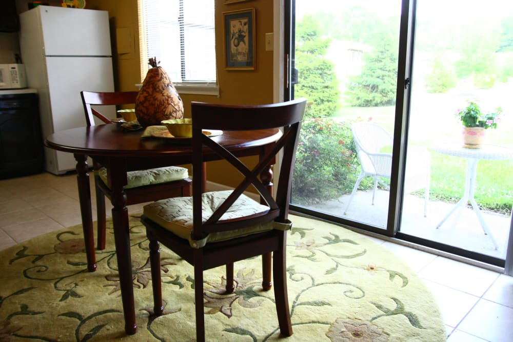 Beautiful dining room at Timber Ridge in Lindenwold, NJ