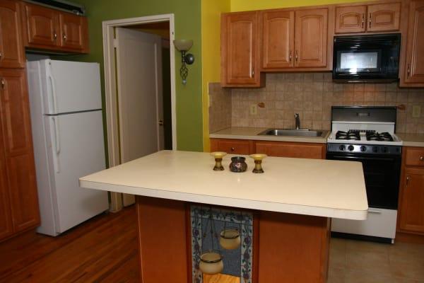 Kitchen model at Linden Arms