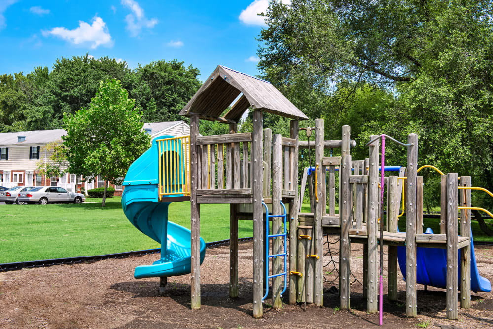 Commons at White Marsh Apartments offers a great for entertaining playground in Middle River, Maryland