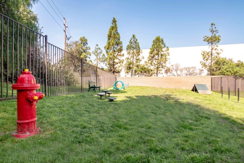 Have fun with your furry friend in the dog park at Terra Nova Villas in Chula Vista, California