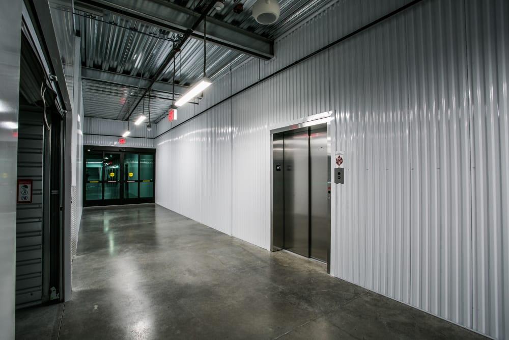 Freight elevator at Golden State Storage - Blue Diamond in Las Vegas, Nevada