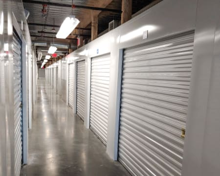 Interior units at StorQuest Self Storage in North Miami, FL