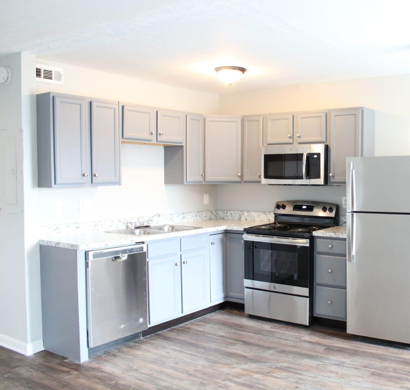 Beautiful kitchen at Clifton Ridge Apartments in Louisville, Kentucky