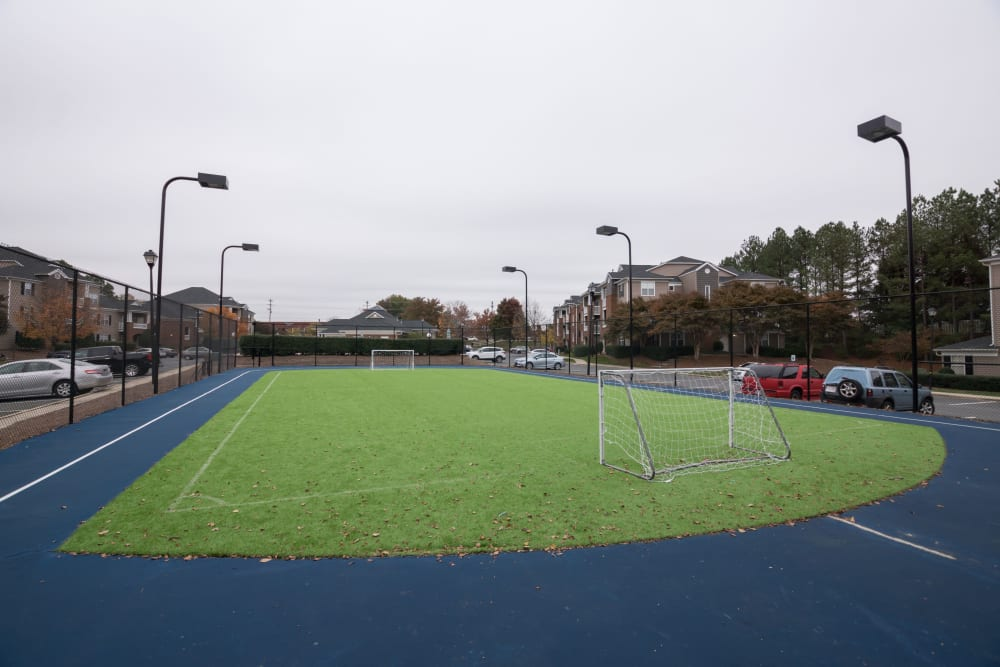 Outdoor sports field at Palmetto Place in Fort Mill, South Carolina