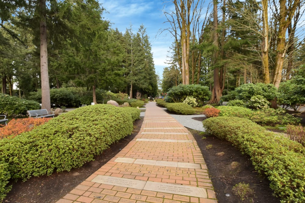Park near Arbor Square Apartments in Olympia, Washington