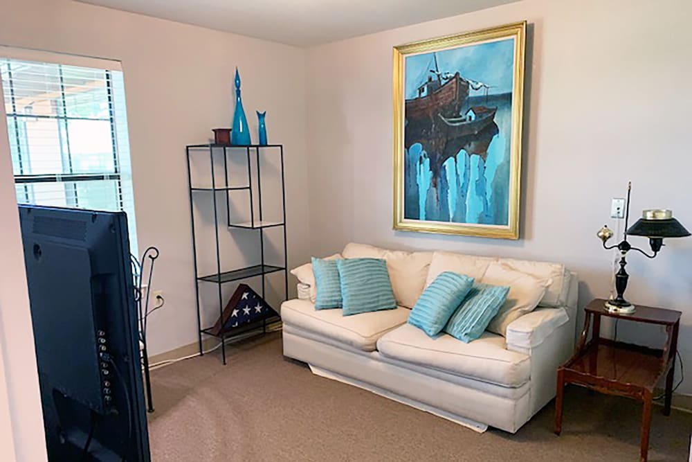 new two bedroom at Peachtree Village Retirement Community