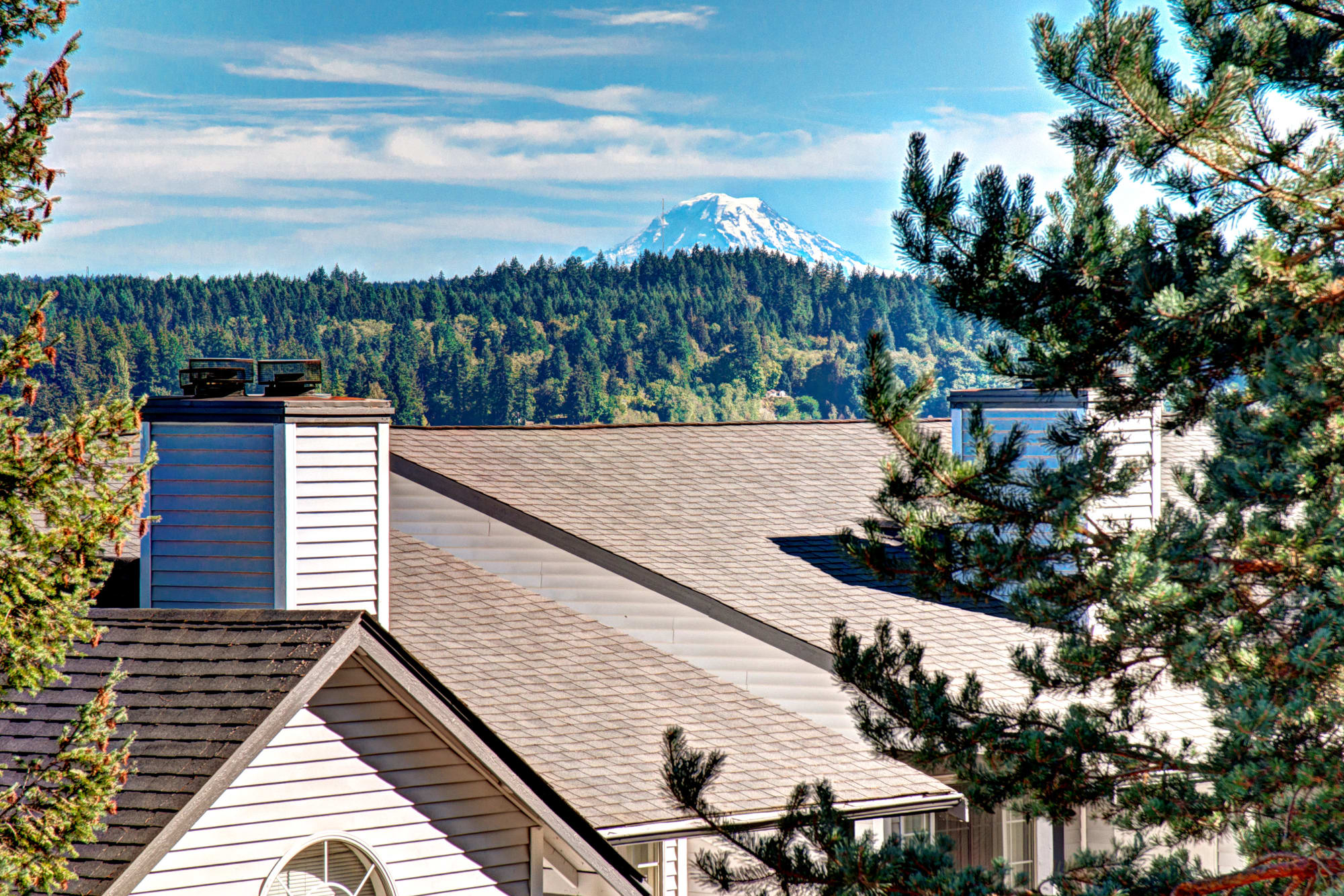 A spectacular view from Wellington Apartment Homes in Silverdale, Washington