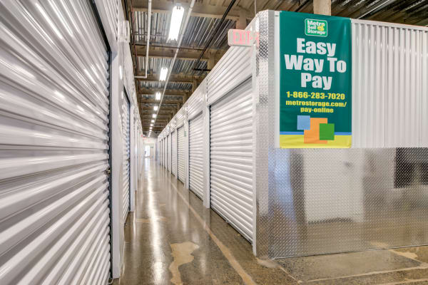 Storage units at self storage in North Plainfield, New Jersey