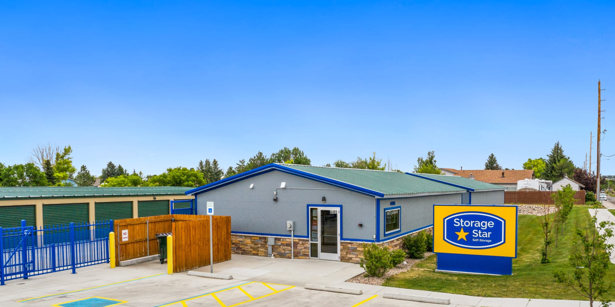 Self storage at Storage Star Cheyenne in Cheyenne, Wyoming