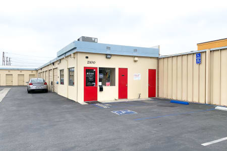 Office Exterior At Our Lakewood Self Storage Facility